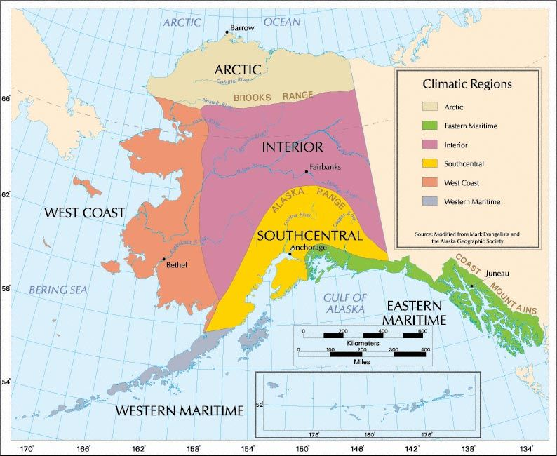 Perceptual regions in Alaska map Inupiaq Stu s