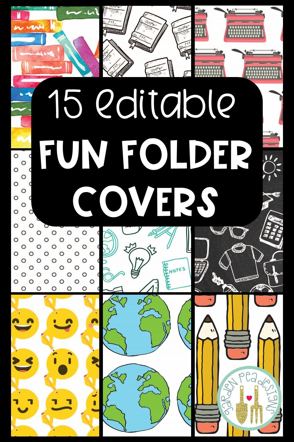 folder covers | my tpt products | pinterest | cover