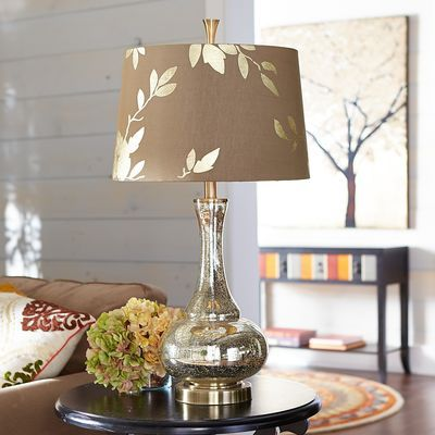 Gold leaf glass table lamp floor lamp interiors and room gold leaf glass table lamp aloadofball