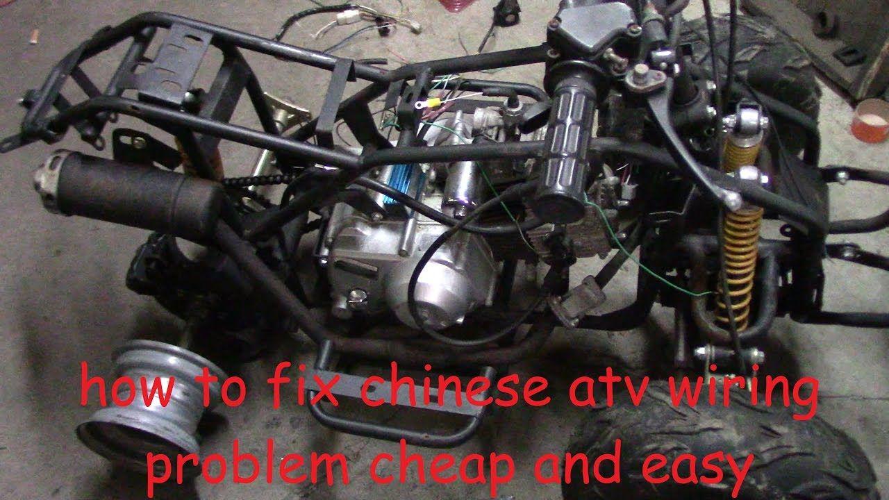medium resolution of how to fix chinese atv wiring no wiring no spark no problem