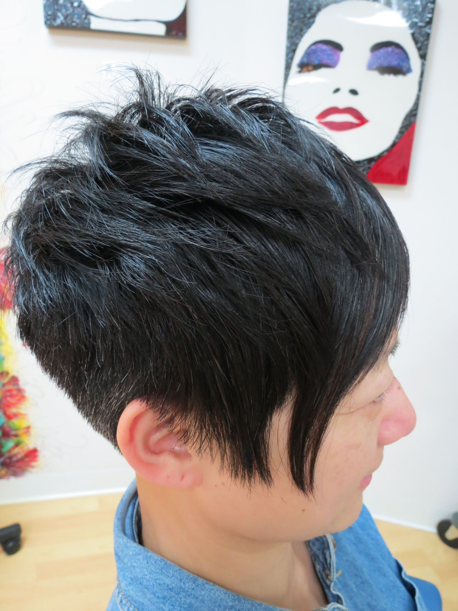 Texture and softness on coarse hair