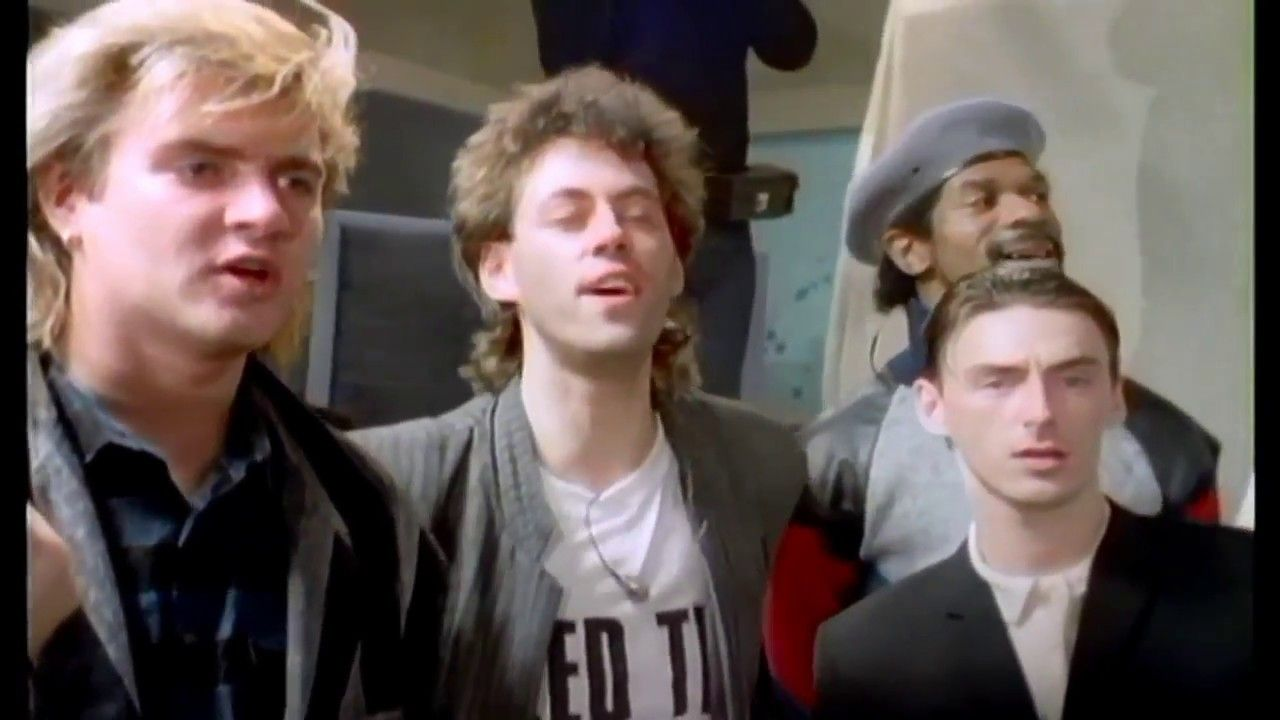 Do They Know It S Christmas Band Aid 1984 Band Aid 1984 Frankie Goes To Hollywood The Style Council