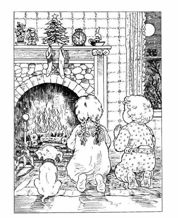 Kerst · Coloring BookColouringPaper CraftsAuDrawingsColoring Book PagesPaper  ...