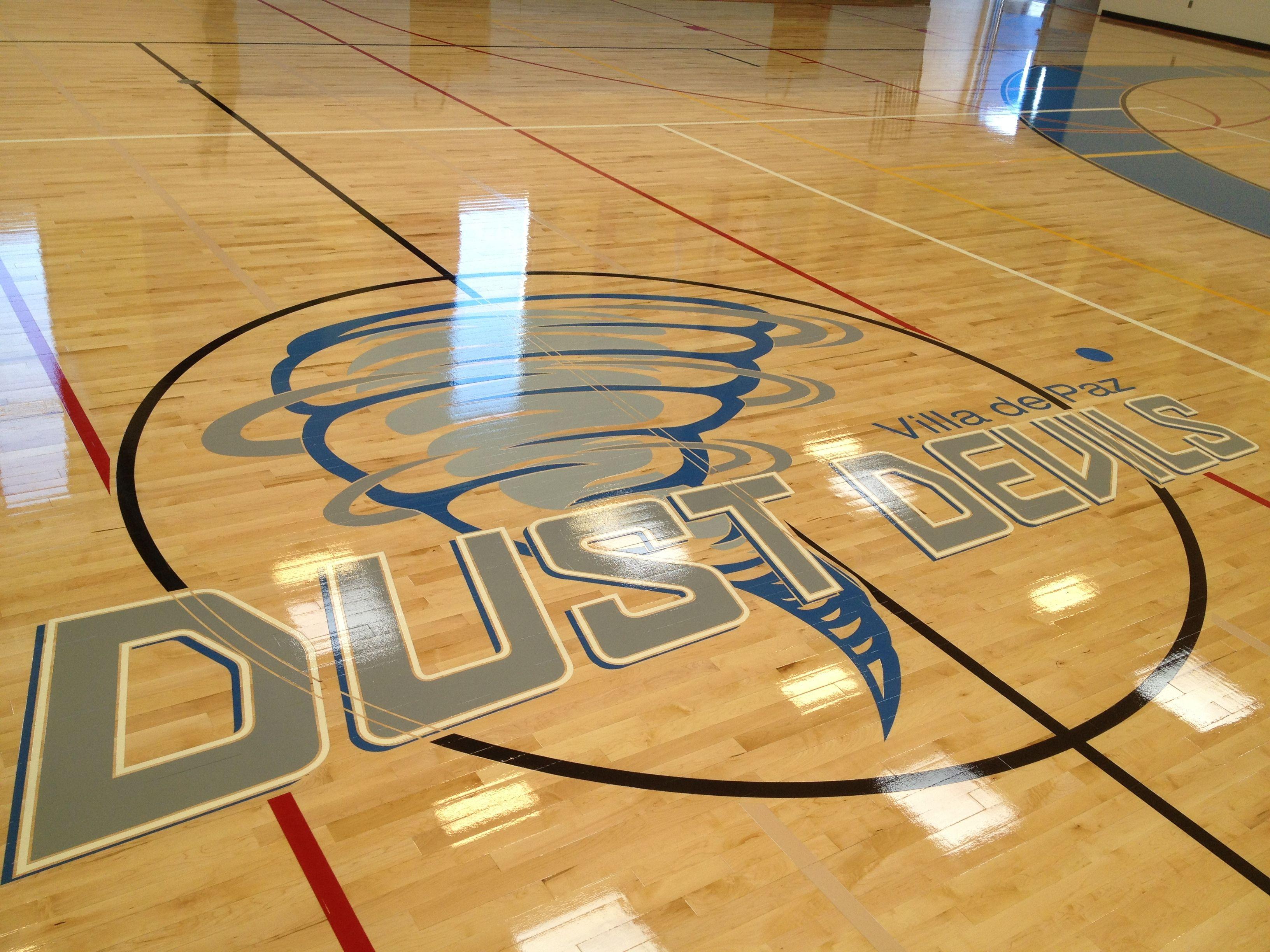 Villa De Paz Elementary School Logo Phoenix Arizona Gym
