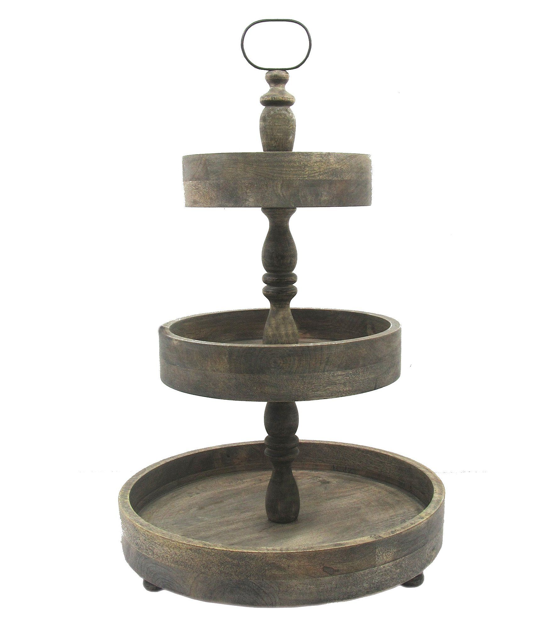 Southern Living Festive Fall 3 Tier Wood Server Home Decor Styles Southern Living Decor Styles