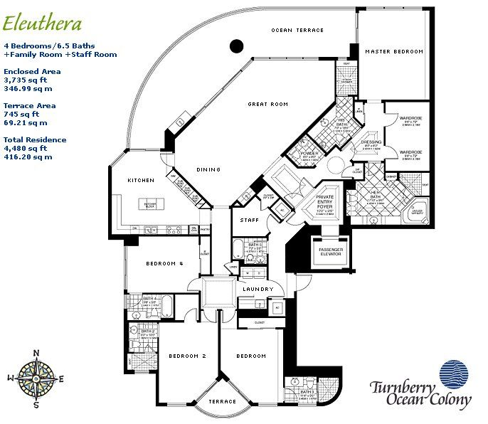 Flooring Sale Las Vegas: Expensive Caribbean Condo Floor Plan