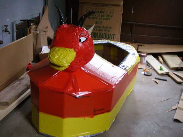 Make A Cardboard Boat