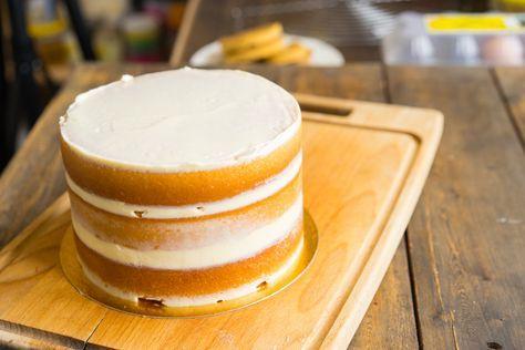 Торты из бисквита рецепт пошаговый 76