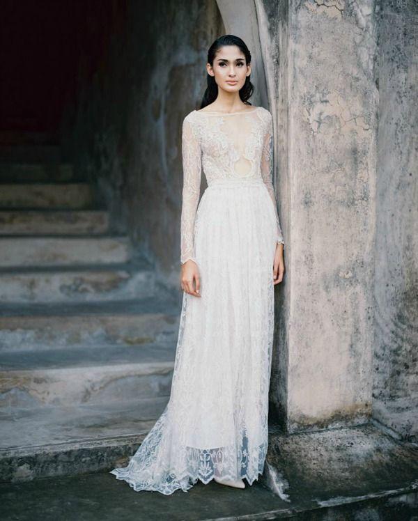 Bramanta Wijaya Sposa Spring Summer 2015 Bridal Collection Bajan Wed Bride Dress Vintage Wedding Gowns Lace Summer Wedding Dress