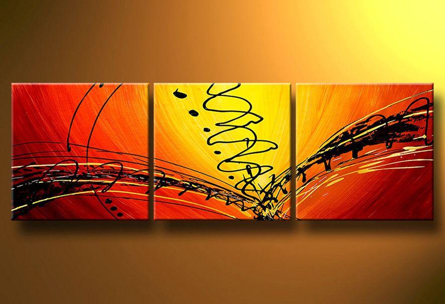 Cuadros abstractos modernos en acrilico texturados for Imagenes cuadros abstractos modernos