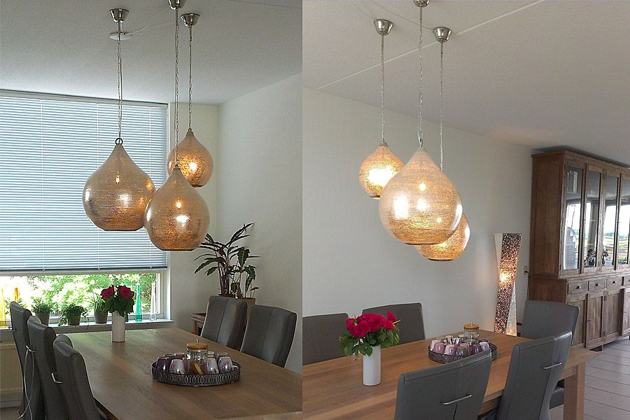 eettafel hanglampen sorraya van nour lifestyle lampen