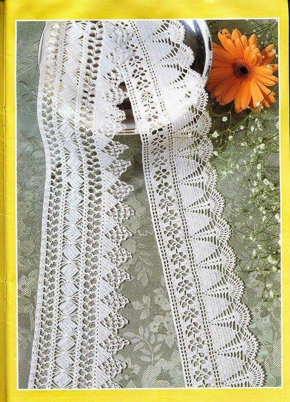Todo crochet en 2018 | puntillas | Pinterest | Patrón gratis ...