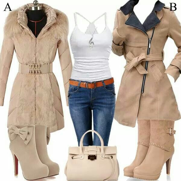 Either jacket for me. These are definitely my style for the winter.