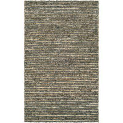 Trent Austin Design Susanville Hand-Woven Brown/Gray Area Rug Rug Size: