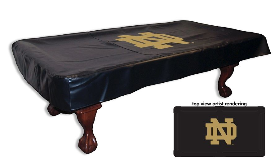 University Of Notre Dame Billiard Table Cover Sports Fans Plus Billiard Table Cover Pool Table Covers Table Covers