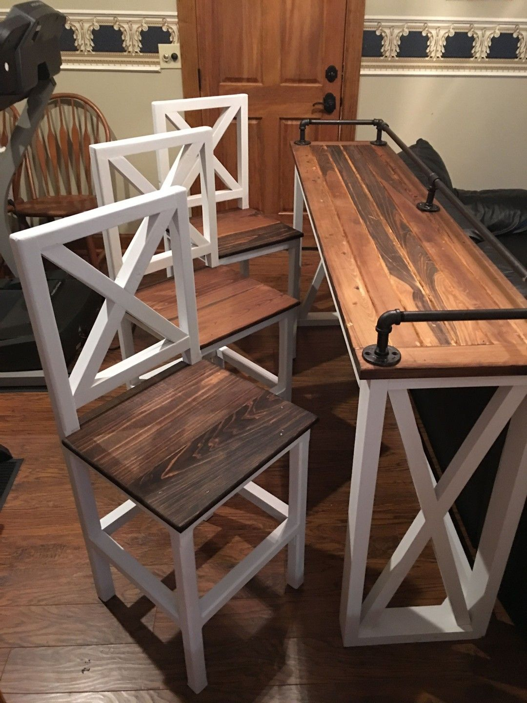 Super 27 Reclaimed Barn Wood Sofa Bar Table Diy Projects Game Pdpeps Interior Chair Design Pdpepsorg
