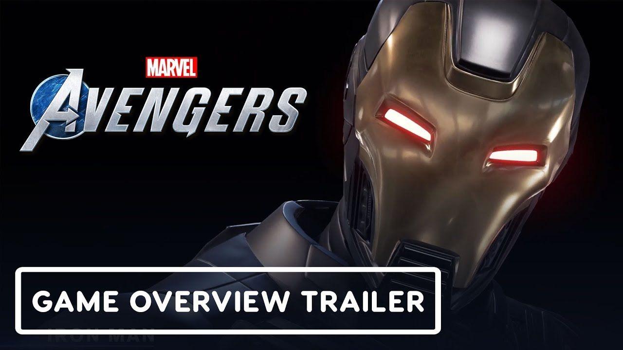 Marvel S Avengers Game Overview Trailer Marvel Avengers Games