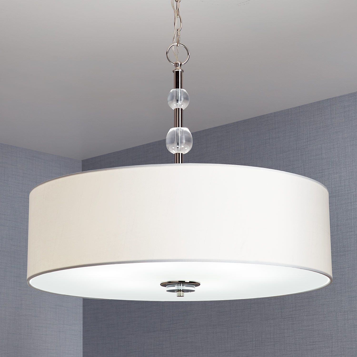 Custom 30 Inch And Larger Drum Pendant Light Fixture Extra Large Lamp Shades Drum Shade Chandelier Drum Light Fixture