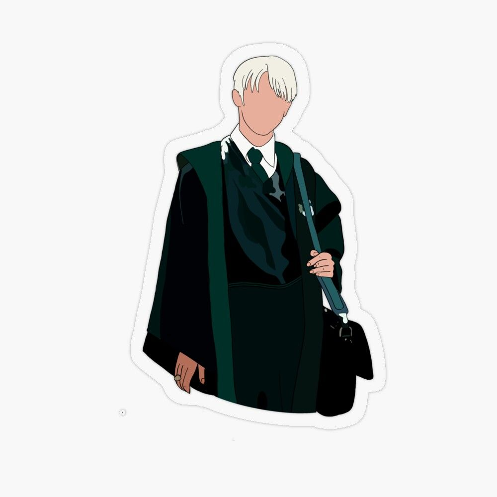 Draco Malfoy Transparent Sticker By Oliviarosa In 2020 Harry Potter Stickers Harry Potter Draco