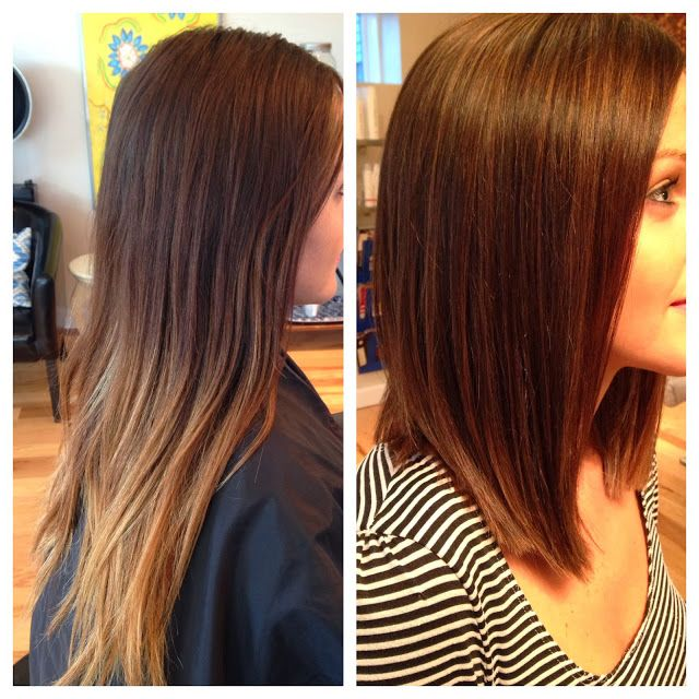 Vorher Nachher Frisuren Frisuren Lange Haare Und Bob Frisur
