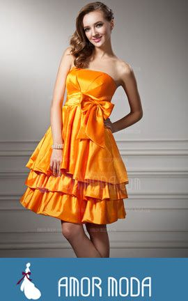 Homecoming Dress With Ruffle Bow(s)  at an affordable price of $114.99 #HomecomingDress