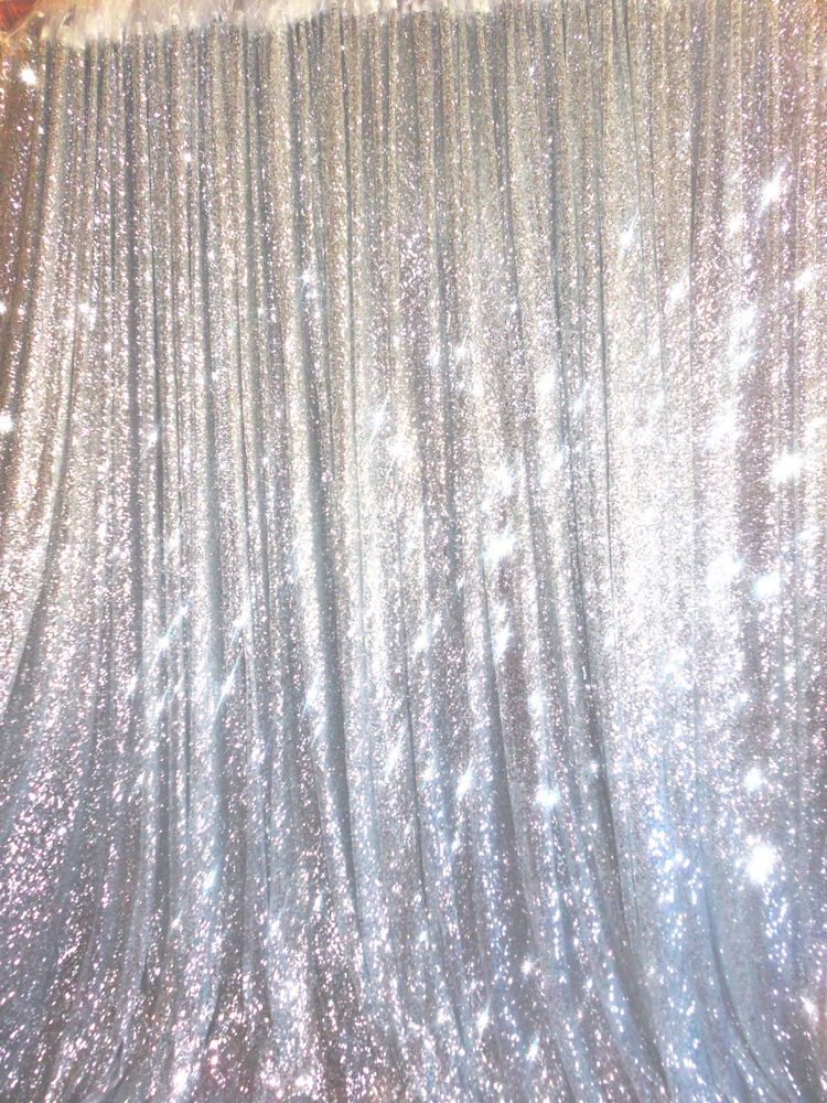 20 Ft X 10 Ft Silver Sequins Backdrop Curtain In Home Garden Window Treatments Hardware Curtains Drapes Valances Ebay Sequin Backdrop Backdrops Denim Diamonds