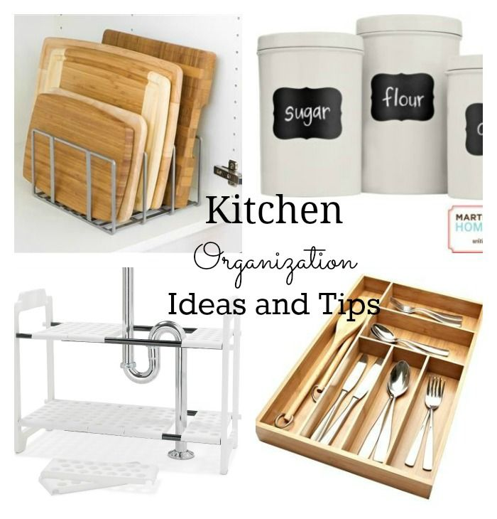 kitchen organization ideas and tips | organization tips and