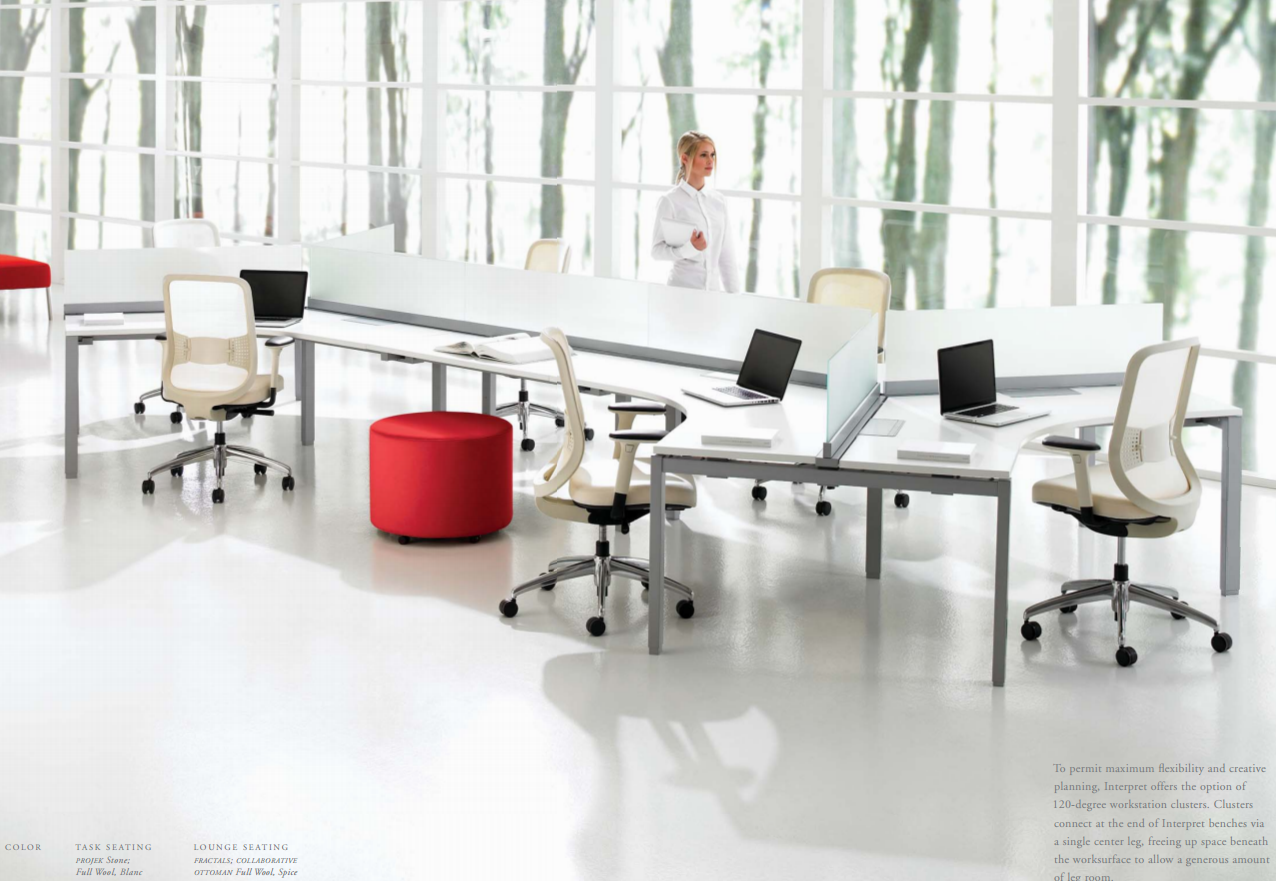 Teknion Desk | Workspace | Pinterest | Desks, Bench and Office ...