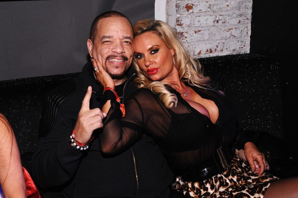 Coco Austin and IceT Tracy Lauren Marrow, or IceT, and