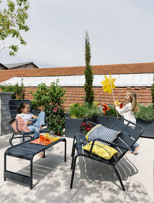 Châteaux de sable Kissen / 44 x 44 cm - outdoor-geeignet - Fermob ...