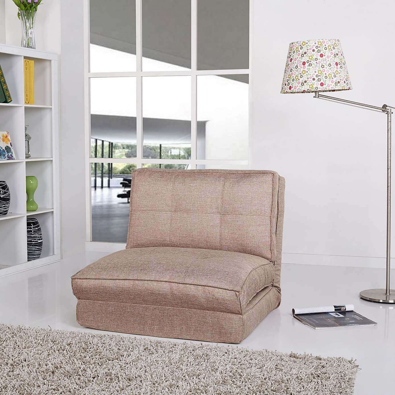 Leveson Fabric Chair Bed Dunelm Chair bed, Chair