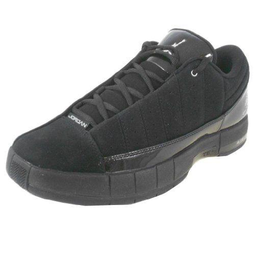 reputable site 3afc3 1af42 ... 11 Nike Mens Jordan TE II Advance 395468 002 Casual Sneaker Jordan Black  ...