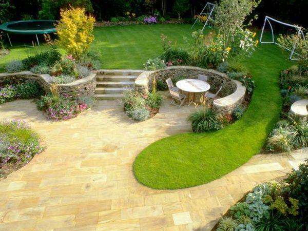 Rasen Anlegen Die Richtige Form Entsprechend Der Freizeitaktivitaten Auswahlen Garten Gartengestaltung Ideen Garten Pflanzen