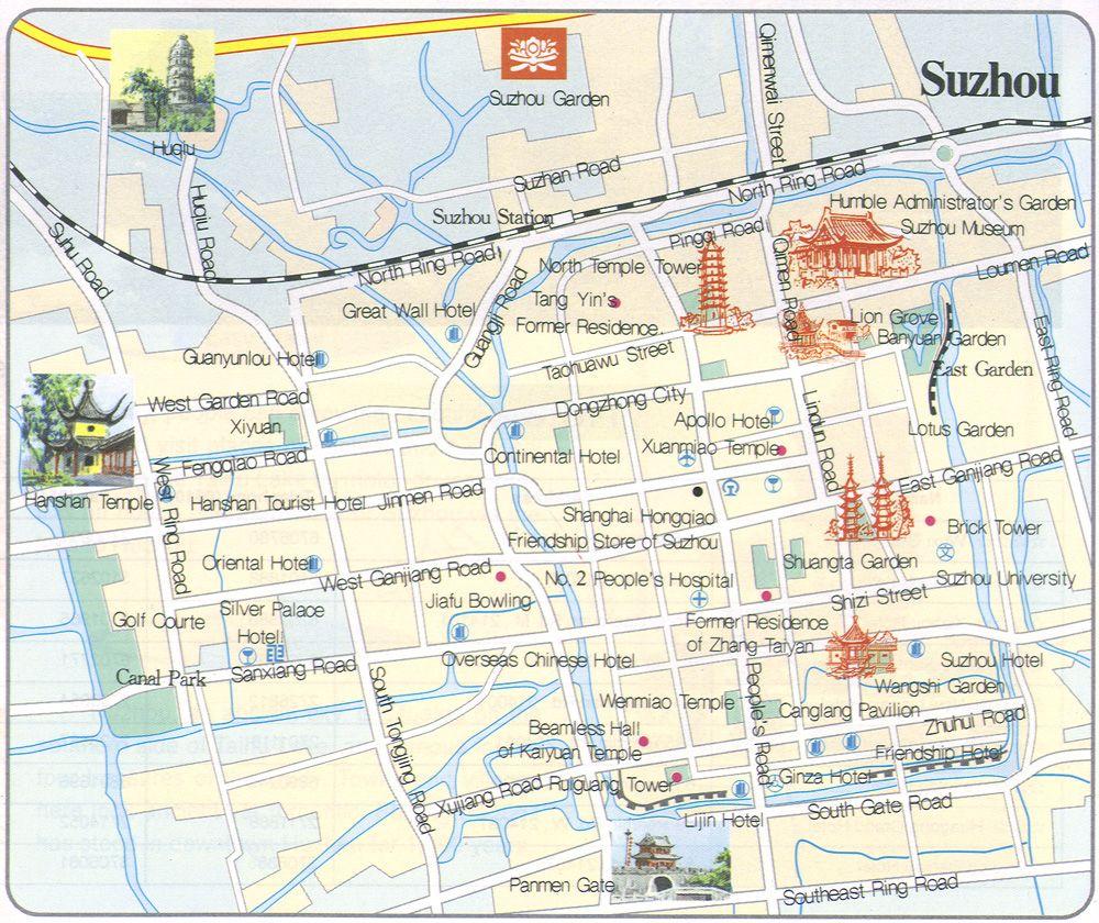 Maps Of Suzhou Beijing Subway Map China Map Suzhou