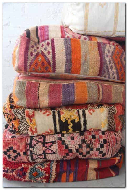 Boho Moroccon Wedding Pillow You Can Make Easily Moroccan Floor Pillows