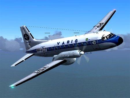 Varig Avro Hs 748 Varig Aviao Comercial Avioes Vintage E Aviacao