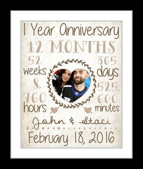 1 Year Anniversary Present Wedding Anniversary By Printsinspired Paper Wedding Anniversary Gift 1 Year Anniversary Gifts Anniversary Gifts For Husband
