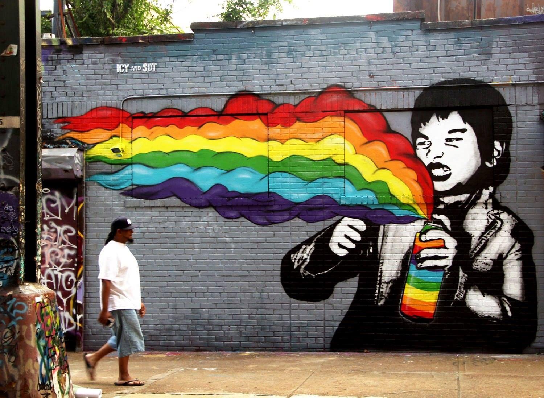 Icy Ve Sot Sokak Sanati Graffiti Graffiti Graffiti Art