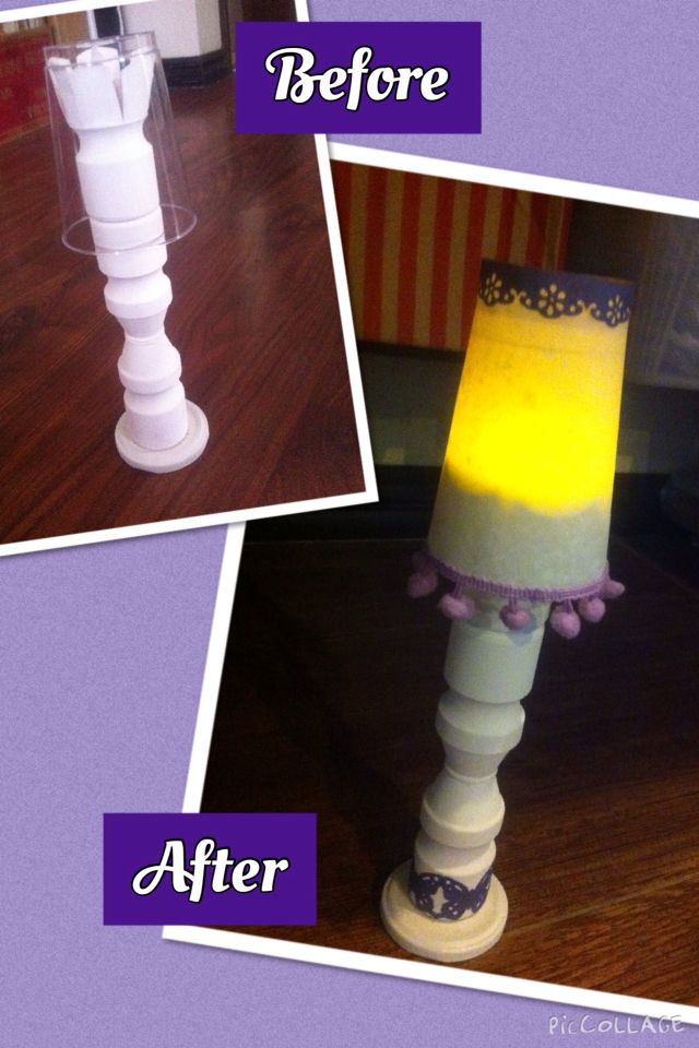 Diy Yakult Bottle Lamp