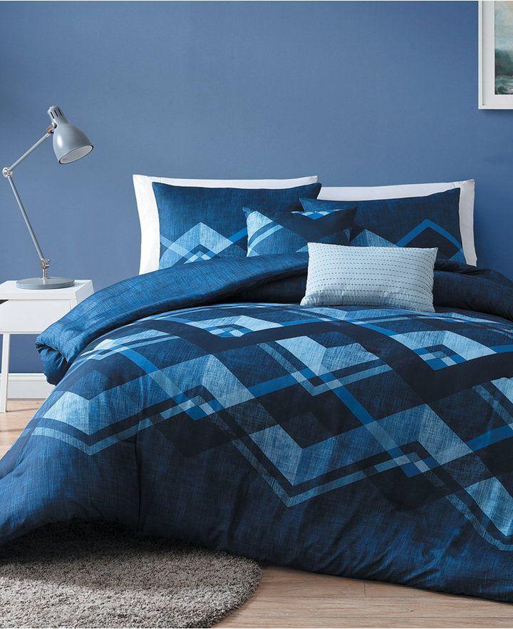 Reversible 4 Piece Twin Comforter Set