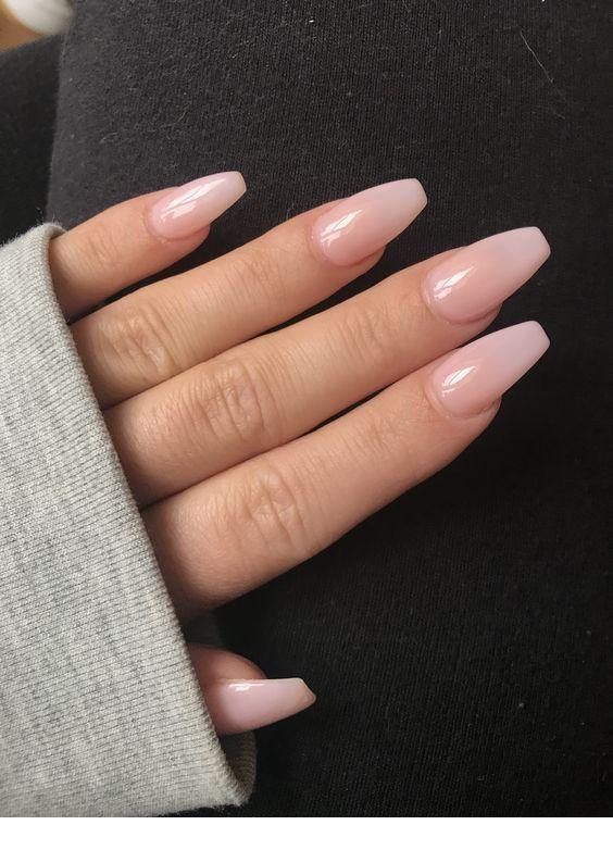 Photo of Winter long pink nails – best pinterest blog – nails – #best #blog #long …
