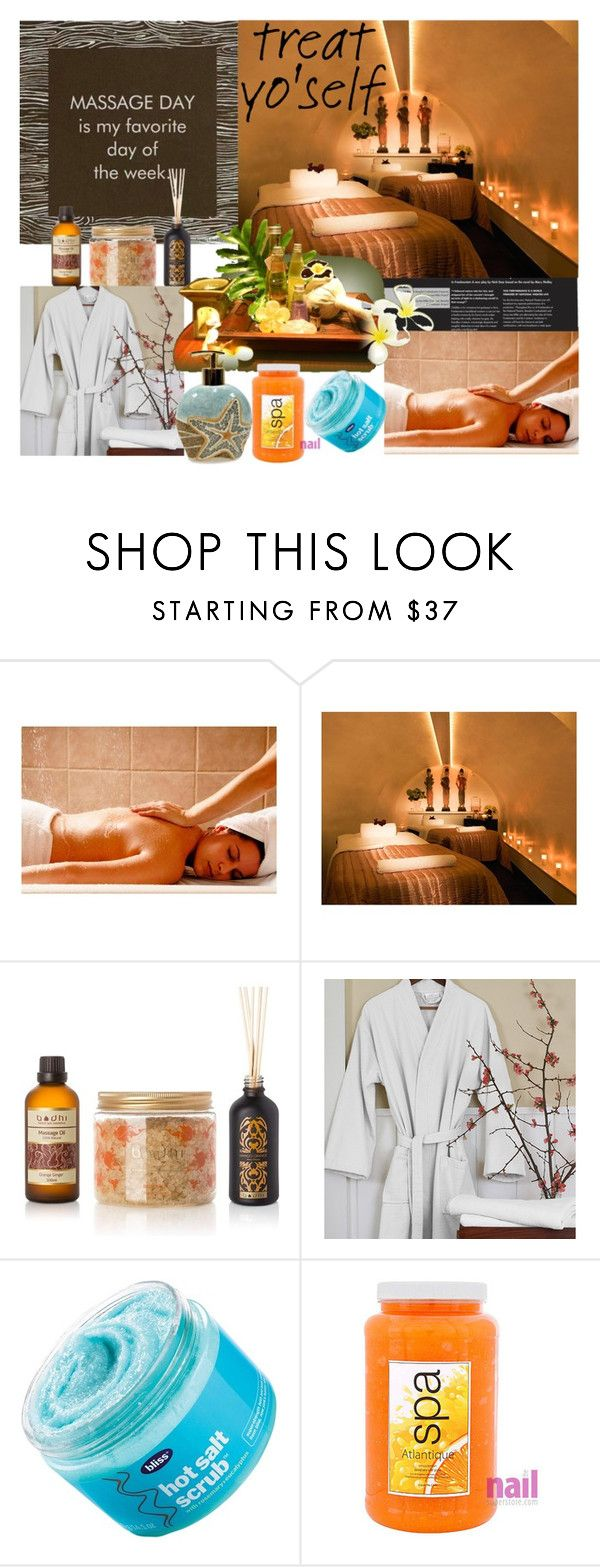 """Relax for 2017"" by peppermax ❤ liked on Polyvore featuring beauty, Bliss, Atlantique and Croscill"