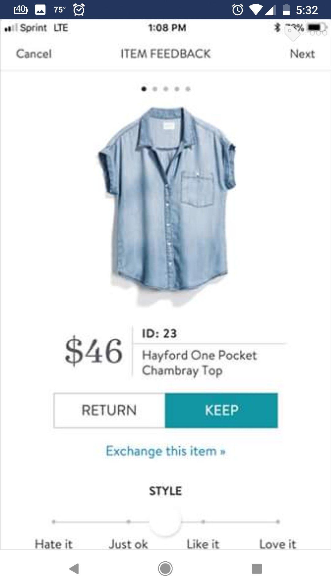 b1135f8f153 Stitch Fix Outfits, Denim Button Up, Button Up Shirts, I Dress, Dress
