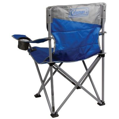 Tall Fishing Chair Nail Salon Chairs Uk Coleman Big N Quad With Carrying Case Blue Products In