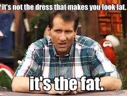 it's the fat