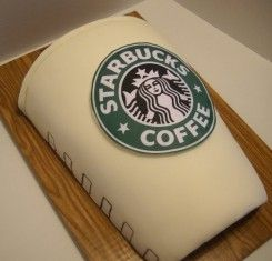 Starbucks Birthday Cake All things Starbucks Pinterest