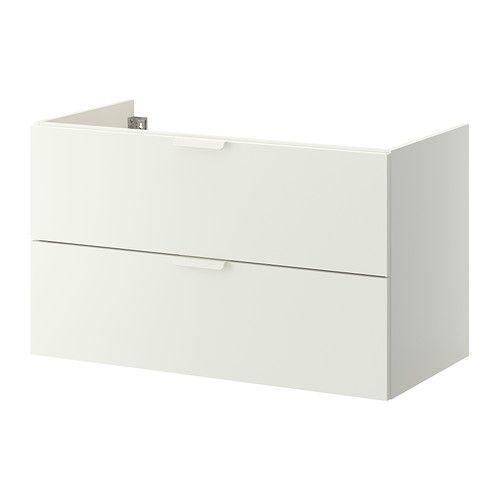 GODMORGON Waschbeckenschrank/2 Schubl, grautürkis Sinks, Drawers