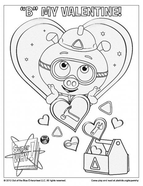 Super Why Coloring Book #415 | Pics to Color | Super Why Board ...
