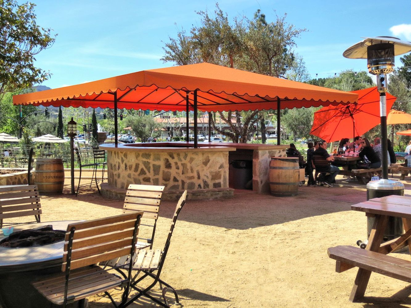 Restaurant Awnings, Dining Patio Covers, Retractable Fabric Patio  Enclosures, Entrance Canopies, Private Cabanas And More.