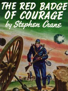 red badge of courage novel project Like crane's first novel, the red badge of courage has a deeply ironic tone which increases in severity as the novel progresses the title of the work is ironic henry wishes that he, too, had a wound, a red badge of courage, echoing a wish to have been wounded in battle.